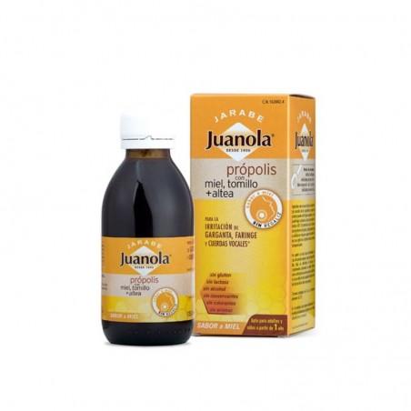 Comprar JUANOLA JARABE PRÓPOLIS CON MIEL TOMILLO Y ALTEA 125 ML
