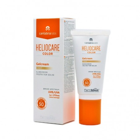 Comprar HELIOCARE COLOR GELCREAM LIGHT SPF 50 50 ML