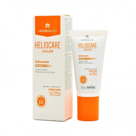 Comprar HELIOCARE COLOR GELCREAM BROWN SPF 50 50 ML