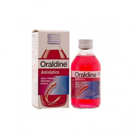 Comprar ORALDINE ANTISÉPTICO COLUTORIO 200 ML