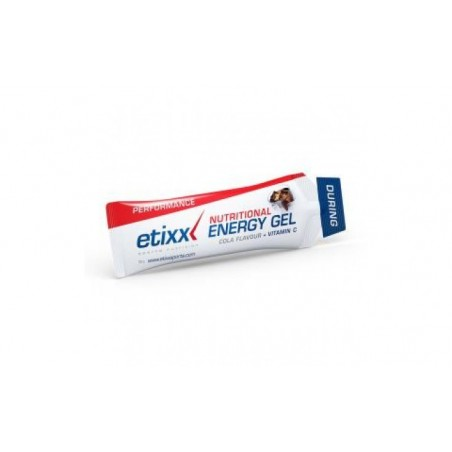 Comprar ETIXX energy gel sabor cola 12ud.