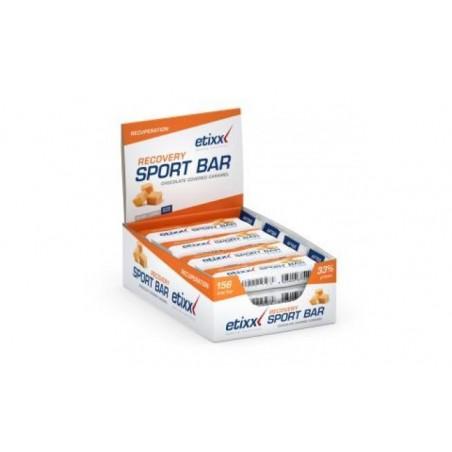 Comprar ETIXX recovery bar sabor caramelo 12barritas