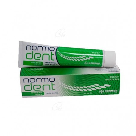 Comprar NORMODENT ANTICARIES BIFLUOR PASTA DENTAL