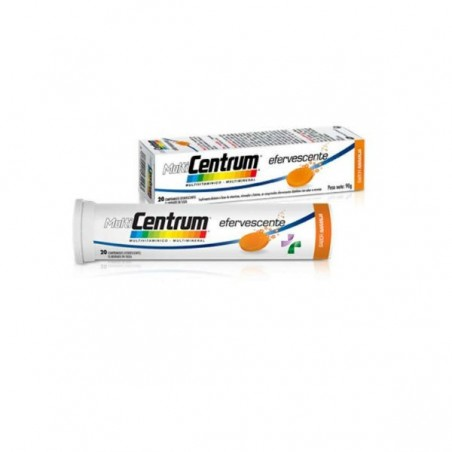 Comprar MULTICENTRUM COMP EFERVESCENTES 20 COMP