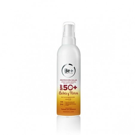 Comprar BE+ FOTOPROTECTOR SPF 50+ FLUIDO INFANTIL SPRAY 250 ML