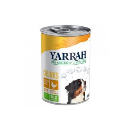 Comprar PERRO lata de trozos con pollo 12x405gr. BIO