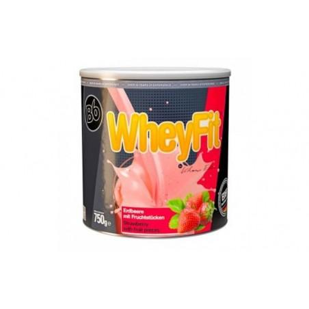 Comprar WHEYFIT sabor fresa 750gr.