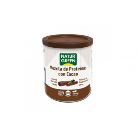 Comprar MEZCLA DE PROTEINA con cacao 250gr. BIO