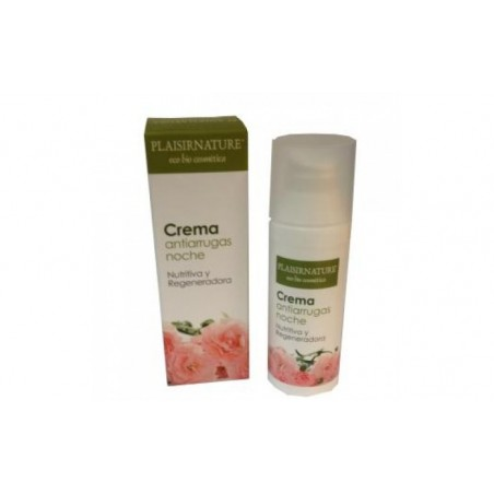 Comprar PLAISIRNATURE crema antiarrugas noche 50ml ECO-BIO