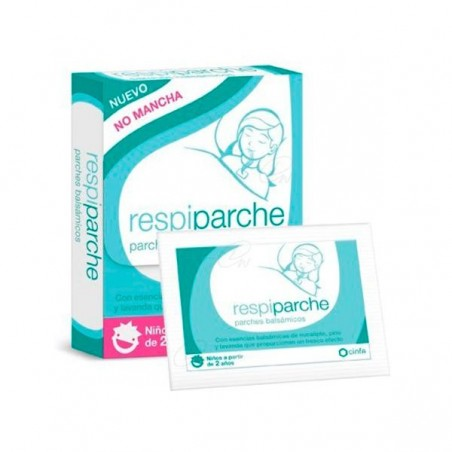 Comprar RESPIPARCHE PARCHE BALSÁMICO 7 UDS