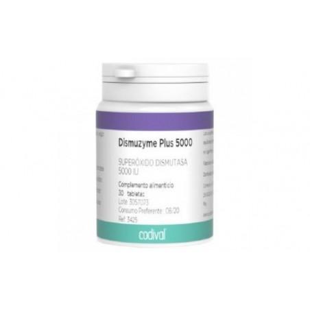 Comprar DISMUZYME PLUS 5000 (S.O.D) 30comp.