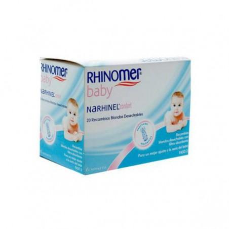 Comprar NARHINEL CONFORT ASPIRADOR RECAMBIO 20 UND