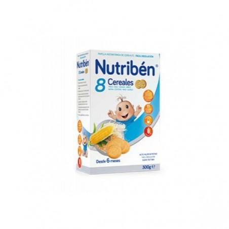 Comprar NUTRIBÉN 8 CEREALES GALLETAS MARÍA 300 G