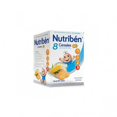 Comprar NUTRIBÉN 8 CEREALES GALLETAS MARÍA 600 G