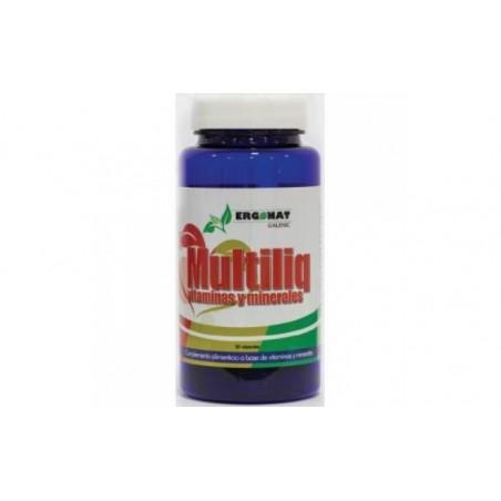 Comprar MULTILIQ vitamina y minerales 30cap.