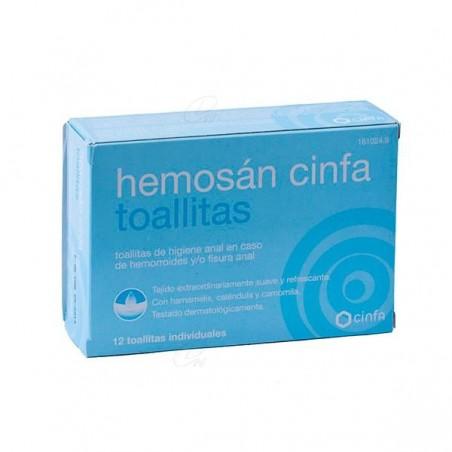 Comprar HEMOSAN CINFA TOALLITAS