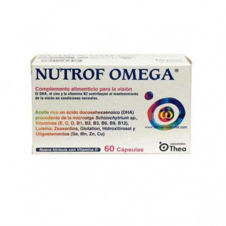 Comprar NUTROF OMEGA 60 CAPS