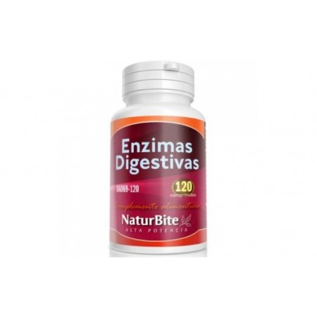 Comprar ENZIMAS DIGESTIVAS 120comp.