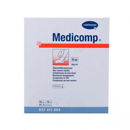 Comprar MEDICOMP COMPRESAS 10 X 10 CM 25 SOBRES 2 U