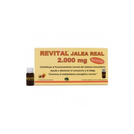 Comprar REVITAL jalea real 2000mg. 20amp.