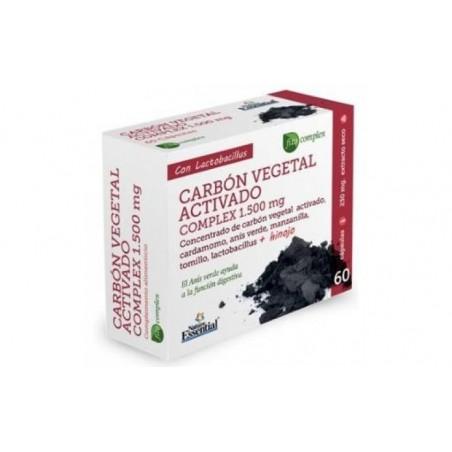 Comprar CARBON VEGETAL ACTIVO complex 60cap.