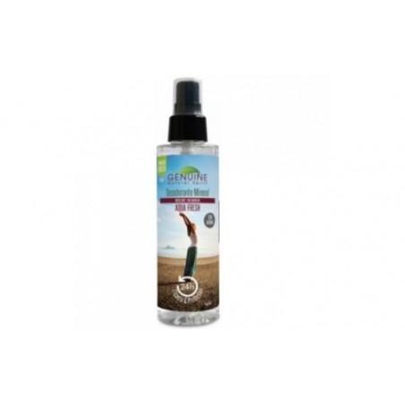 Comprar AQUA FRESH desodorante mineral incoloro 150ml.