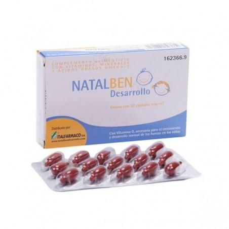 Comprar NATALBEN DESARROLLO 30 CAPS