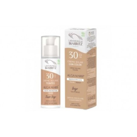 Comprar CREMA FACIAL color beige SPF30 50ml.
