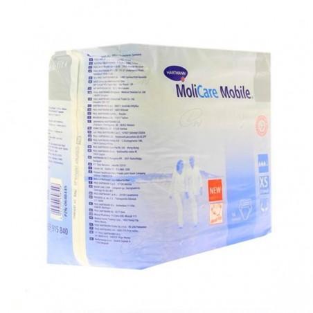 Comprar ABSORB INC ORINA LIGERA C/ SLIP MOLICARE MOBILE T XL 14 U