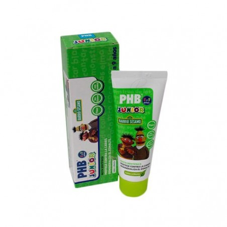 Comprar PHB JUNIOR PASTA DENTAL MENTA 75 ML
