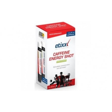 Comprar ETIXX CAFFEINE SHOT 6ud.
