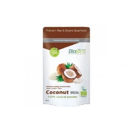 Comprar COCONUT MILK POWDER leche de coco natual 200gr BIO
