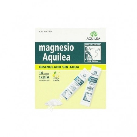 Comprar MAGNESIO AQUILEA GRANULADO 3 G 14 SOBRES