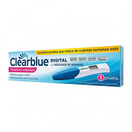 Comprar CLEARBLUE DIGITAL TEST EMBARAZO