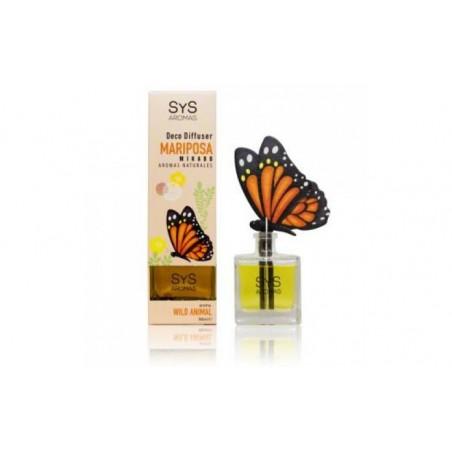 Comprar AMBIENTADOR SYS DIFUSOR mariposa 90ml. WILD ANIMAL
