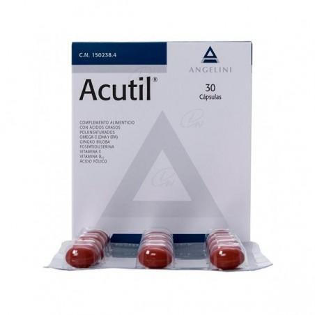 Comprar ACUTIL 30 CAPSULAS