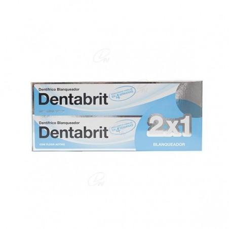 Comprar DENTABRIT DENTÍFRICO BLANQUEADOR 2 X 125 ML