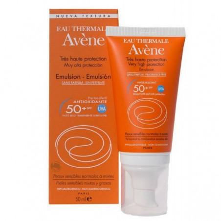 Comprar AVENE SPF 50+ FLUIDO MUY ALTA PROTEC SIN PERFU 50 ML