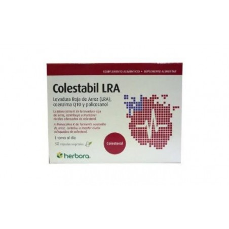 Comprar COLESTABIL (arroz rojo) 30cap.