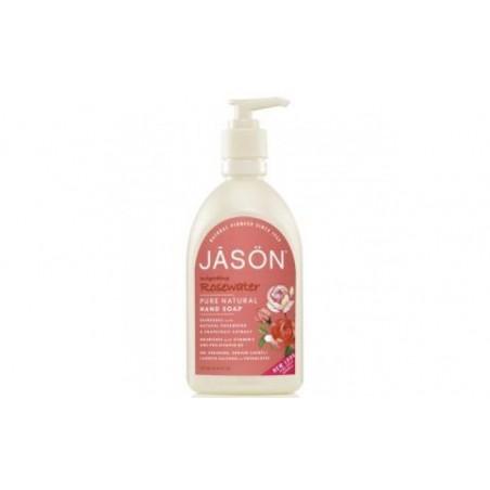 Comprar SATIN SOAP  jabon de manos agua de rosas 473ml.