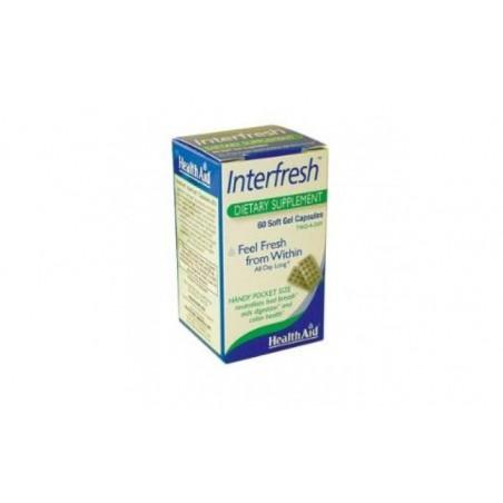 Comprar INTERFRESH 60cap. HEALTH AID