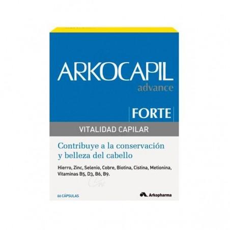 Comprar ARKOCAPIL FORTE VITALIDAD CAPILAR 60 CAPS