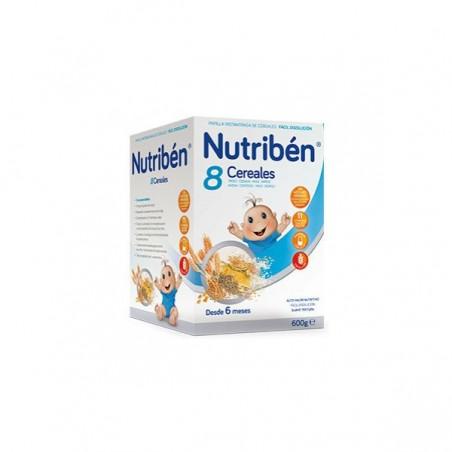 Comprar NUTRIBEN 8 CEREALES 600 G