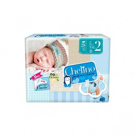 Comprar PAÑAL INFANTIL CHELINO T - 2 (3 - 6 KG) 28 UDS