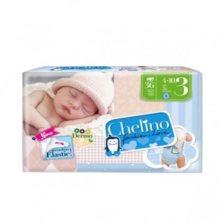 Comprar PAÑAL INFANTIL CHELINO T - 3 (4 - 10 KG) 36 UDS