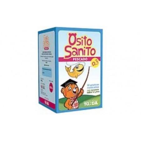 Comprar OSITO SANITO PESCADO OMEGA 3 50 gelatinas mast.