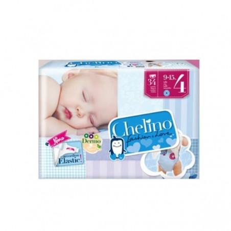 Comprar PAÑAL INFANTIL CHELINO T - 4 (9-15 KG) 34 UDS