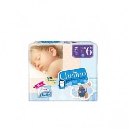 Comprar PAÑAL INFANTIL CHELINO T - 6 (17 - 28 KG) 27 UDS