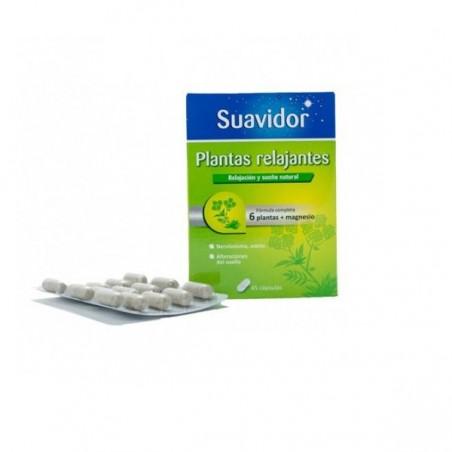Comprar SUAVIDOR PLANTAS RELAJANTES 45 CAPS
