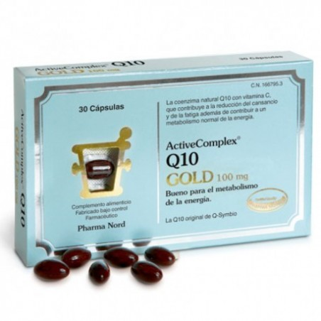 Comprar ACTIVECOMPLEX® Q10 GOLD 100MG 30 CÁPSULAS